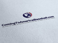 ComingToAmericaBaseball.com Logo - Entry #18
