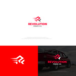 Revolution Fence Co. Logo - Entry #387