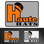 Haute Hats- Brand/Logo - Entry #34