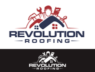 Revolution Roofing Logo - Entry #442