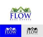 Flow Real Estate Logo - Entry #68