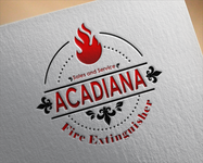 Acadiana Fire Extinguisher Sales and Service Logo - Entry #225