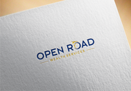 "Open Road Wealth Services, LLC  (The ""LLC"" can be dropped for design purposes.) Logo - Entry #112"