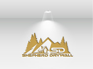 Shepherd Drywall Logo - Entry #174