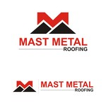 Mast Metal Roofing Logo - Entry #321