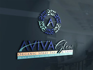 AVIVA Glow - Organic Spray Tan & Lash Logo - Entry #70