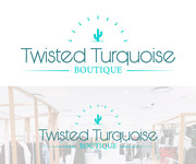Twisted Turquoise Boutique Logo - Entry #89