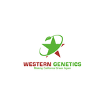 Western Genetics Logo - Entry #10