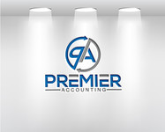 Premier Accounting Logo - Entry #445