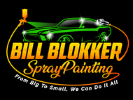 Bill Blokker Spraypainting Logo - Entry #177