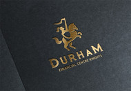 Durham Financial Centre Knights Logo - Entry #34