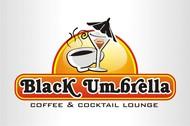 Black umbrella coffee & cocktail lounge Logo - Entry #117