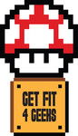 GET FIT 4 GEEKS Logo - Entry #26