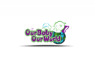 Logo for our Baby product store - Our Baby Our World - Entry #101