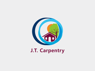 J.T. Carpentry Logo - Entry #25