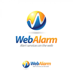 Logo for WebAlarms - Alert services on the web - Entry #183