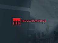 Revolution Fence Co. Logo - Entry #118