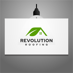 Revolution Roofing Logo - Entry #400