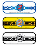 PRO2CEO Personal/Professional Development Company  Logo - Entry #89