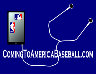 ComingToAmericaBaseball.com Logo - Entry #1