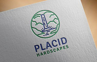Placid Hardscapes Logo - Entry #19