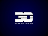 3D Sign Solutions Logo - Entry #118