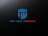 """We Hire Heroes""  Or ""We Hire Veterans"" Logo - Entry #26"