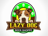 Lazy Dog Beer Shoppe Logo - Entry #16