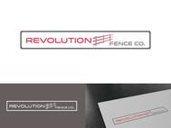 Revolution Fence Co. Logo - Entry #277