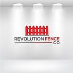 Revolution Fence Co. Logo - Entry #268