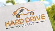 Hard drive garage Logo - Entry #120