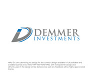 Demmer Investments Logo - Entry #153