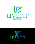 Live Fit Stay Safe Logo - Entry #134
