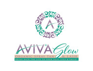 AVIVA Glow - Organic Spray Tan & Lash Logo - Entry #32