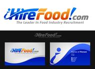 iHireFood.com Logo - Entry #120