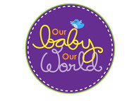 Logo for our Baby product store - Our Baby Our World - Entry #108