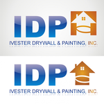 IVESTER DRYWALL & PAINTING, INC. Logo - Entry #81