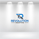 Revolution Roofing Logo - Entry #199
