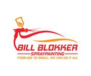 Bill Blokker Spraypainting Logo - Entry #79