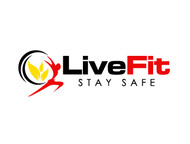 Live Fit Stay Safe Logo - Entry #245