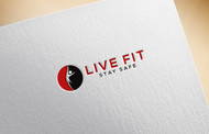 Live Fit Stay Safe Logo - Entry #186