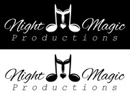 Night Magic Productions Logo - Entry #24