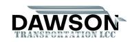 Dawson Transportation LLC. Logo - Entry #253