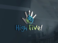 High 5! or High Five! Logo - Entry #65
