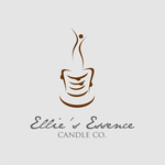 ellie's essence candle co. Logo - Entry #87