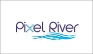 Pixel River Logo - Online Marketing Agency - Entry #25