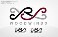 Woodwind repair business logo: R S Woodwinds, llc - Entry #106
