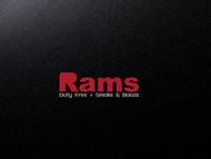 Rams Duty Free + Smoke & Booze Logo - Entry #311