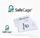 The name is SafeCage but will be seperate from the logo - Entry #7
