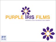 Purple Iris Films Logo - Entry #29